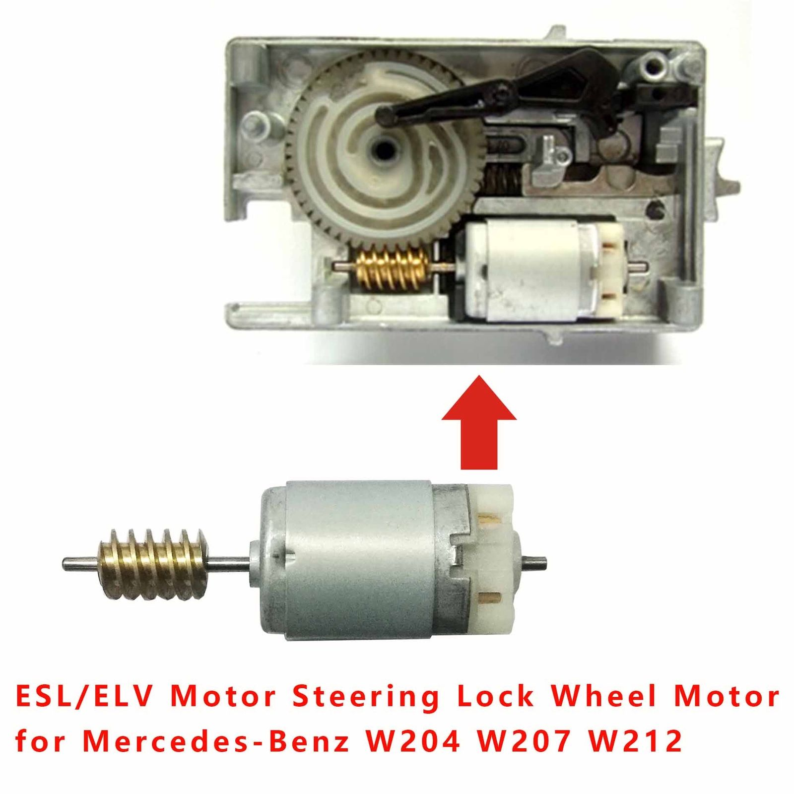 New Benz Steering Lock Auto Wheel Motor ELV ESL For  Mercedes W204 W207 W212