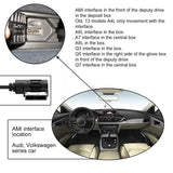 AUDI MMI 3.5mm AUX MP3 Interface Adapter Audio Cable for A4 / A6L / A8 / Q5 / Q7