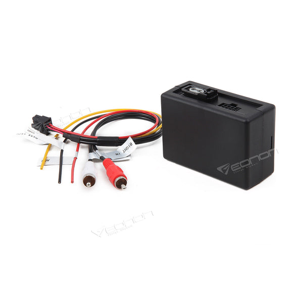 Optical Fiber Decoder Box for BMW E90 E92 E93 Aftermarket Radio Navigation Eonon Installation