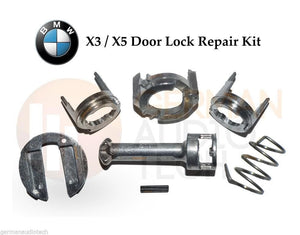 DOOR LOCK REPAIR KIT for 2003 - 2010 BMW X3 (E83) L/R DRIVER CYLINDER + BARREL 2.5 3.0