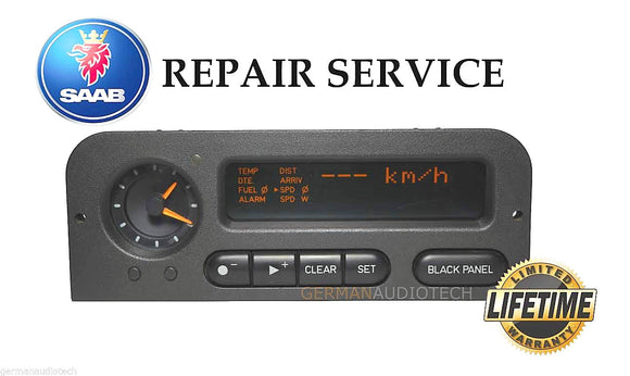 PIXEL REPAIR SERVICE FIX for SAAB 900 SIU1 SIU2 SIU3 INFORMATION DISPLAY 1994-1998