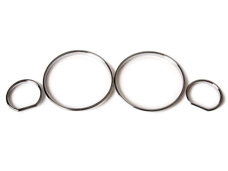 Chrome Gauge Rings for BMW E32 E34 Instrument Speedometer