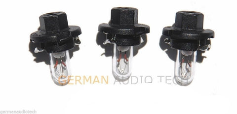 3x PORSCHE LIGHT BULBS LAMPS DASH INSTRUMENT CLUSTER 996 986 911 BOXSTER CARRERA 4S
