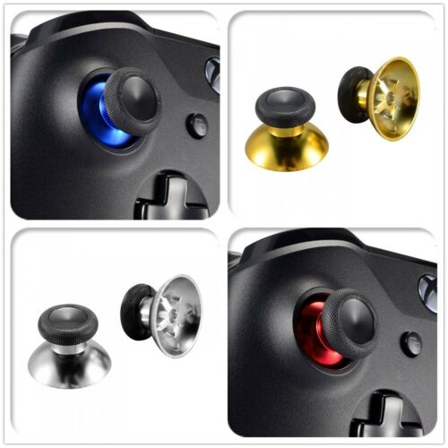 New Replacement Analog Thumbsticks Button Mod for Xbox One PS4 Standard Controller Chrome