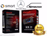 New iCARSOFT MBII MERCEDES-BENZ SPRINTER SMART OBD2 DIAGNOSTIC SCANNER TOOL SERVICE RESET ERASE FAULT CODES