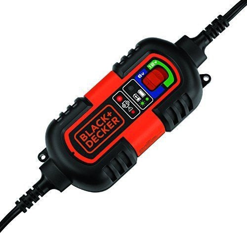 Brand New CAR BATTERY TRICKLE CHARGER MAINTAINER BLACK and DECKER 6V 12V CAR TRUCK MOTORCYCLE BM3B VEVHICLE AC DC PLUG