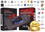 New iCARSOFT CR-PLUS PROFESSIONAL UNIVERSAL OBD2 DIAGNOSTIC SCAN FAULT CODE READER TOOL