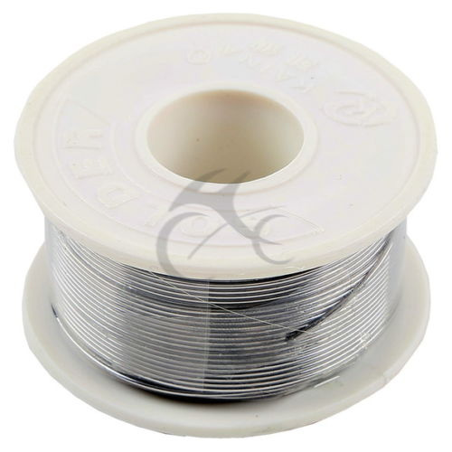 2X 63//37Tin Lead Line Soldering 0.8mm Rosin Core Solder Flux Welding Wire Reel