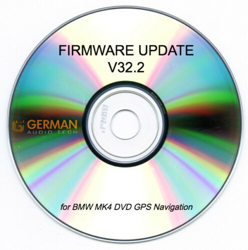 Custom V32.2 FIRMWARE UPDATE CD for BMW MK4 DVD NAVIGATION COMPUTER E46 330 M3 E39 540 M5 E38 E53 X5