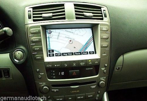 REPAIR SERVICE for LEXUS IS250 IS350 isF NAVIGATION RADIO 2006 2007 2008  2009 FROZEN TOUCH SCREEN DIGITIZER GLASS FIX