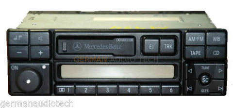 MERCEDES BENZ AM FM RADIO STEREO CASSETTE 1994 1995 1996 1997 1998 BE1492 BE1692