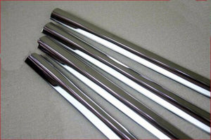 Chrome Window Sill Trim Overlay for Volkswagen VW TIGUAN Stainless Steel 2008-2012 6pcs
