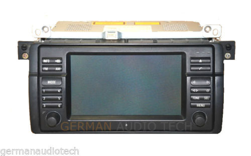 BMW NAVIGATION WIDE-SCREEN MONITOR RADIO 2002-2006 E46 323 325 328 330 M3