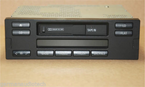 BMW E38 7-Series Radio Cassette Tape Head Unit C23 1995 1996 1997 1998 740i 750i