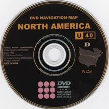 TOYOTA LEXUS SCION U40 D NAVIGATON MAP DVD UPDATE DISC - 2015 2016 Generation 5 Version 15.1