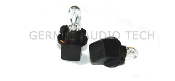 5x VOLVO LIGHT BULBS BLACK STANLEY DASH INSTRUMENT DIM CLIMATE CONTROL C V S XC