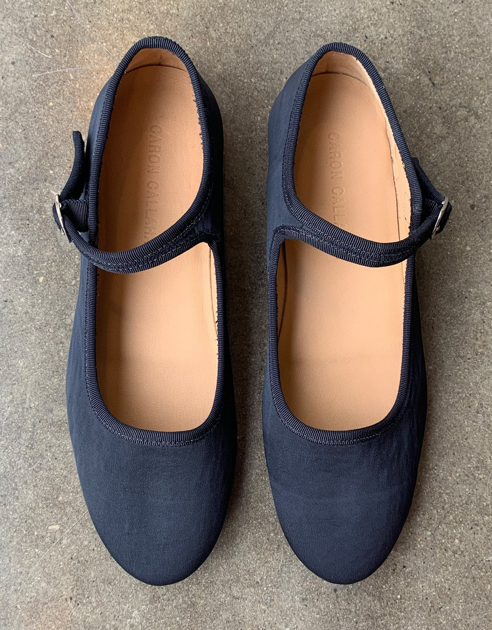 Caron Callahan Ellie Mary Janes in Navy from Shop FAWN