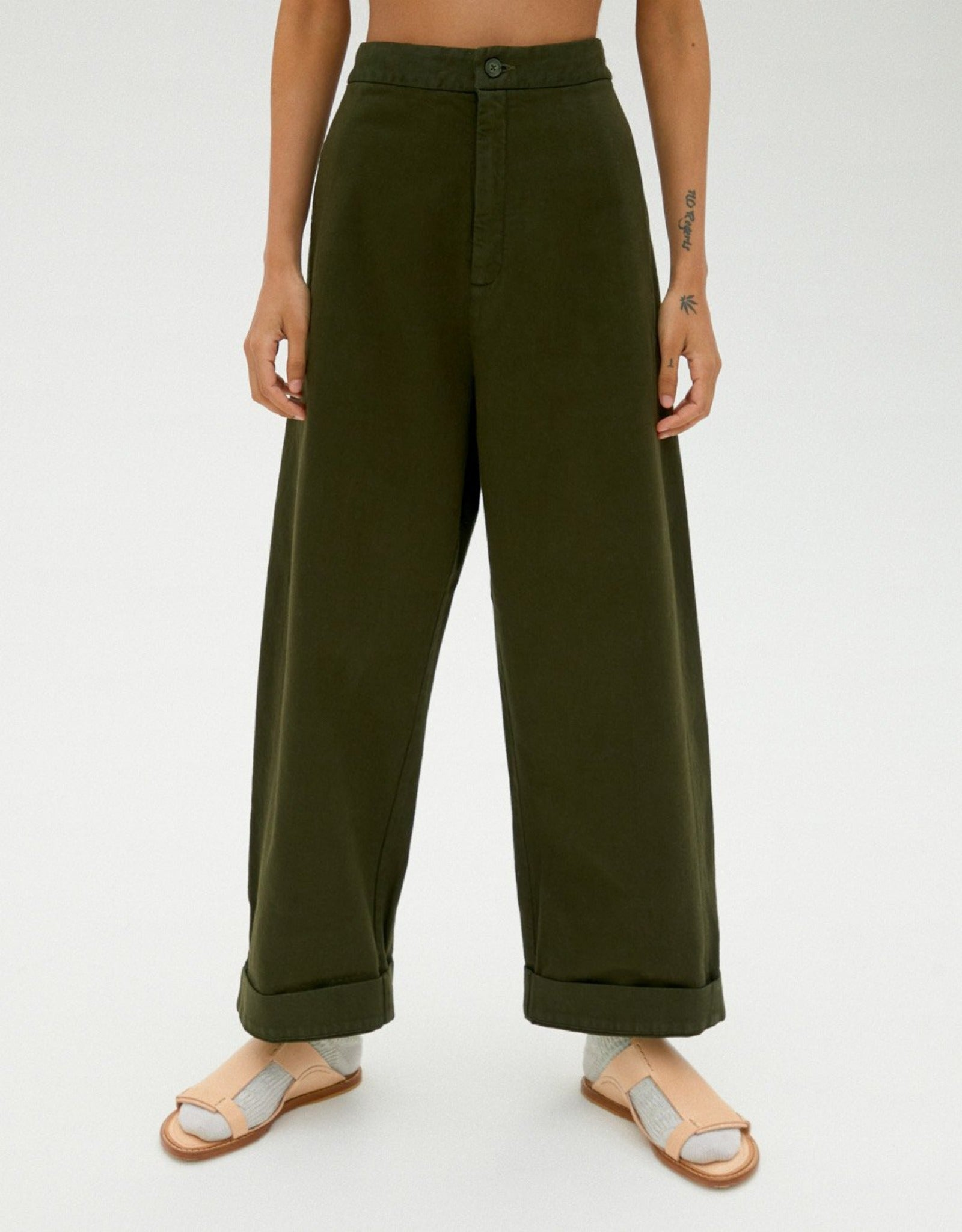 CHUNKY COTTON PANTS