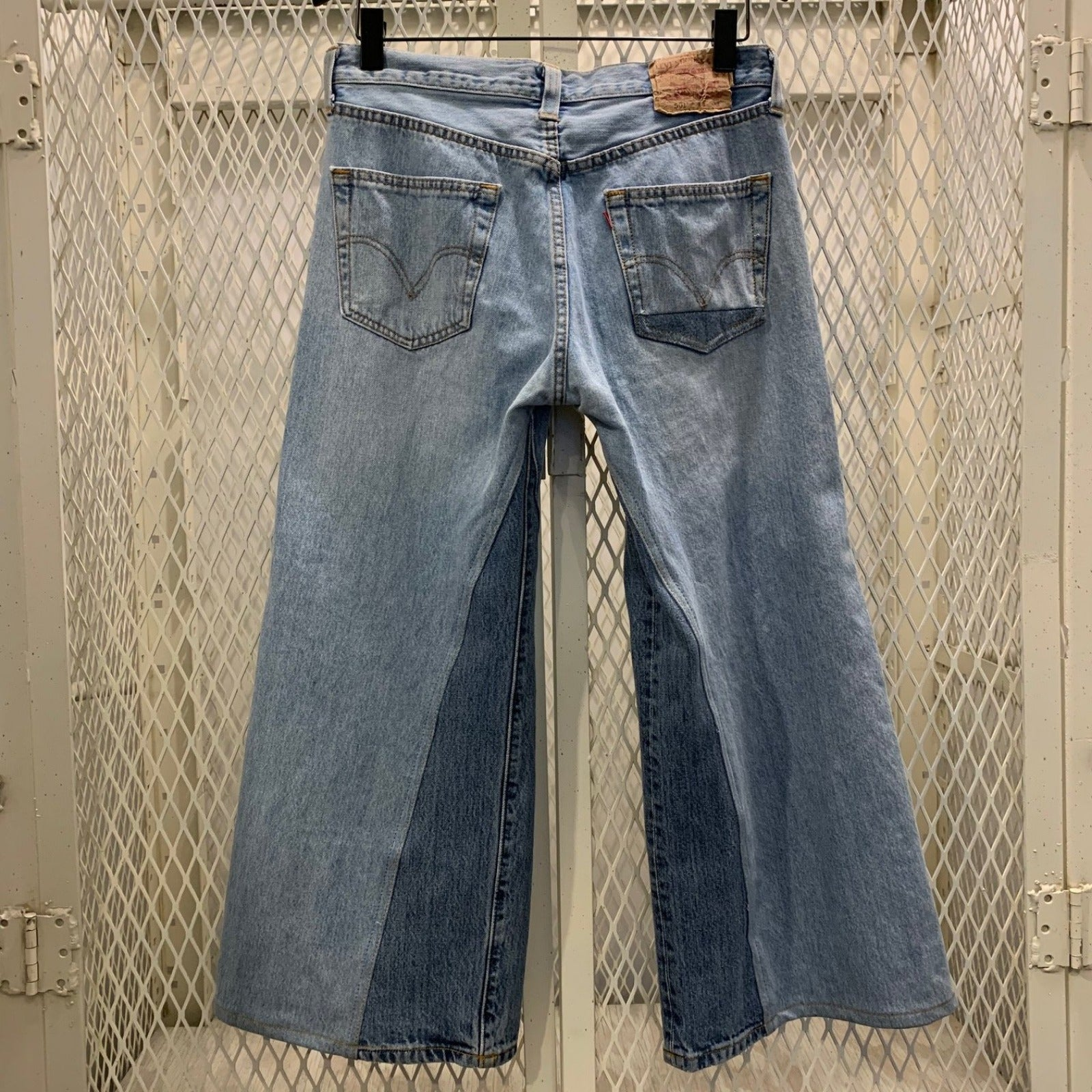 RE-WORKED VINTAGE LEVI'S 501 | CULOTTE CROP