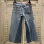 Load image into Gallery viewer, RE-WORKED VINTAGE LEVI'S 501 | CULOTTE CROP