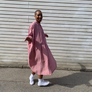 COLOUR LINEN DRESS | MULTIPLE COLOURWAYS