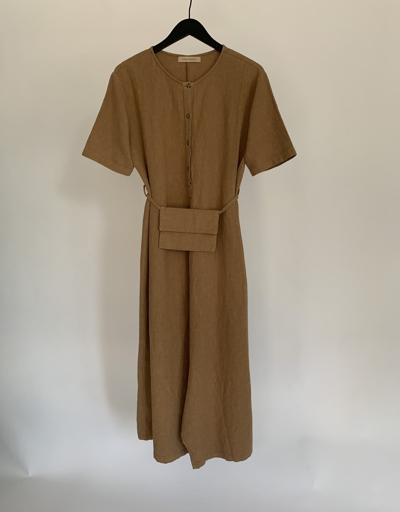 Waist Belt Jumpsuit