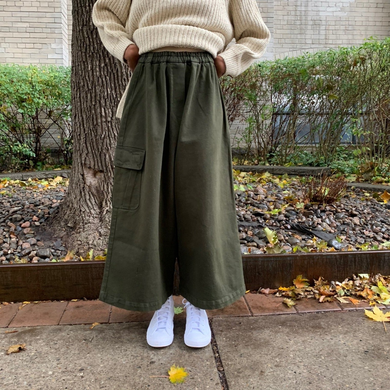 CHUNKY COTTON POCKET PANTS