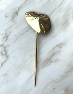 Load image into Gallery viewer, Quarry brass Quarry Hairpin. Available at FAWN Toronto.