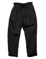 Load image into Gallery viewer, Monitaly Drop Crotch Linen pant in Black. Available at FAWN Toronto.