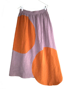 Correll Correll Olka Skirt in Lilac. Available at FAWN Toronto.
