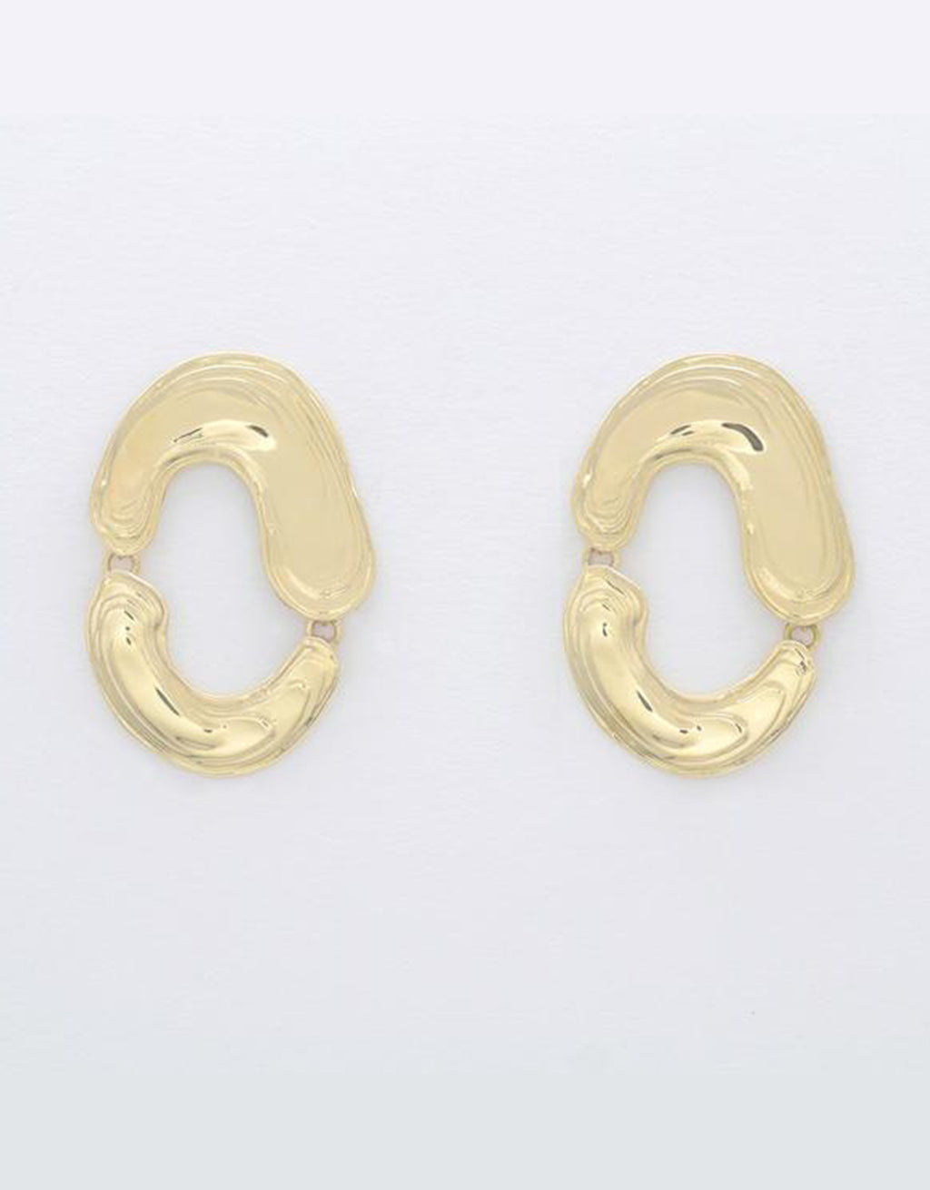 Swirling Swish Earrings by Leigh Miller. Available at FAWN Toronto.