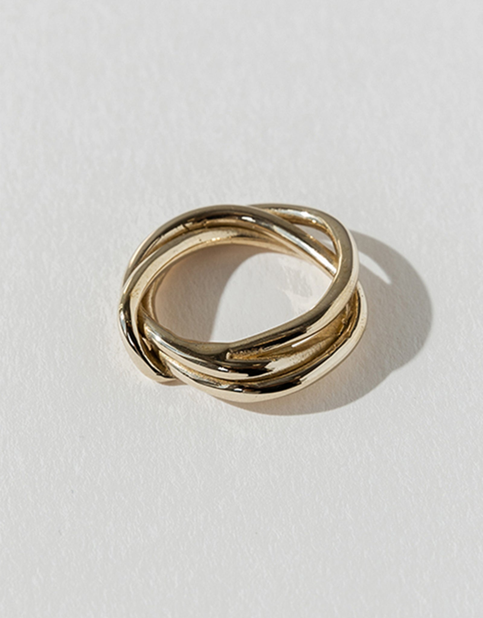 Faris bronze Tangle Ring. Available at FAWN Toronto.