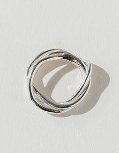 Faris silver Tangle Ring. Available at FAWN Toronto.