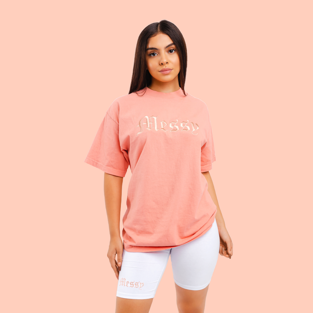 Coral Messy set (Embroidered Logo)