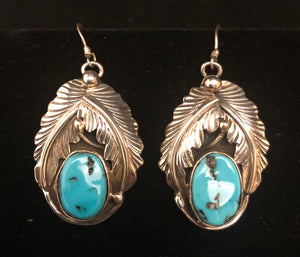 Turquoise sterling silver Squash Blossom Set