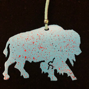 """Buffalo"" Christmas Ornament"