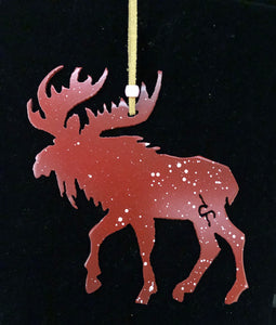 """Moose"" Christmas Ornament"