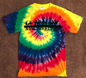 New Territory tie dye short sleeve T-Shirt