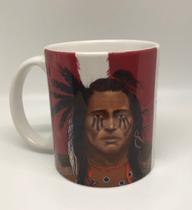 """Prophet"" ceramic art coffee mug"