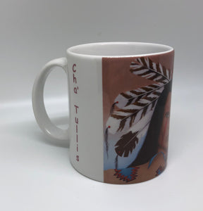 """Medicine Chaser"" ceramic art coffee mug"