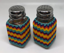Load image into Gallery viewer, Beaded salt & pepper shakers
