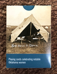 Oklahoma Historical Society Notable Women Playing Cards