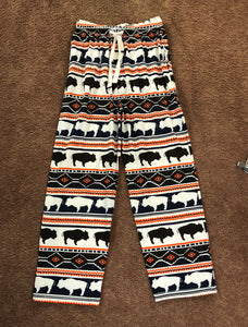 Native design Buffalo PJ pants