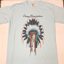 Load image into Gallery viewer, Light Blue Headdress T-Shirt