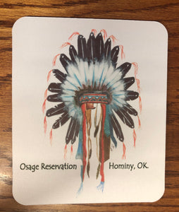 Headdress mouse pad