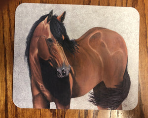 Lilly mouse pad