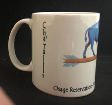 Load image into Gallery viewer, Blue Buffalo Osage Reservation coffee mug