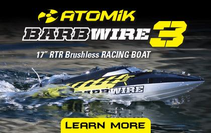 Atomik RC | Home of the Barbwire 2 RTR Racing Boat