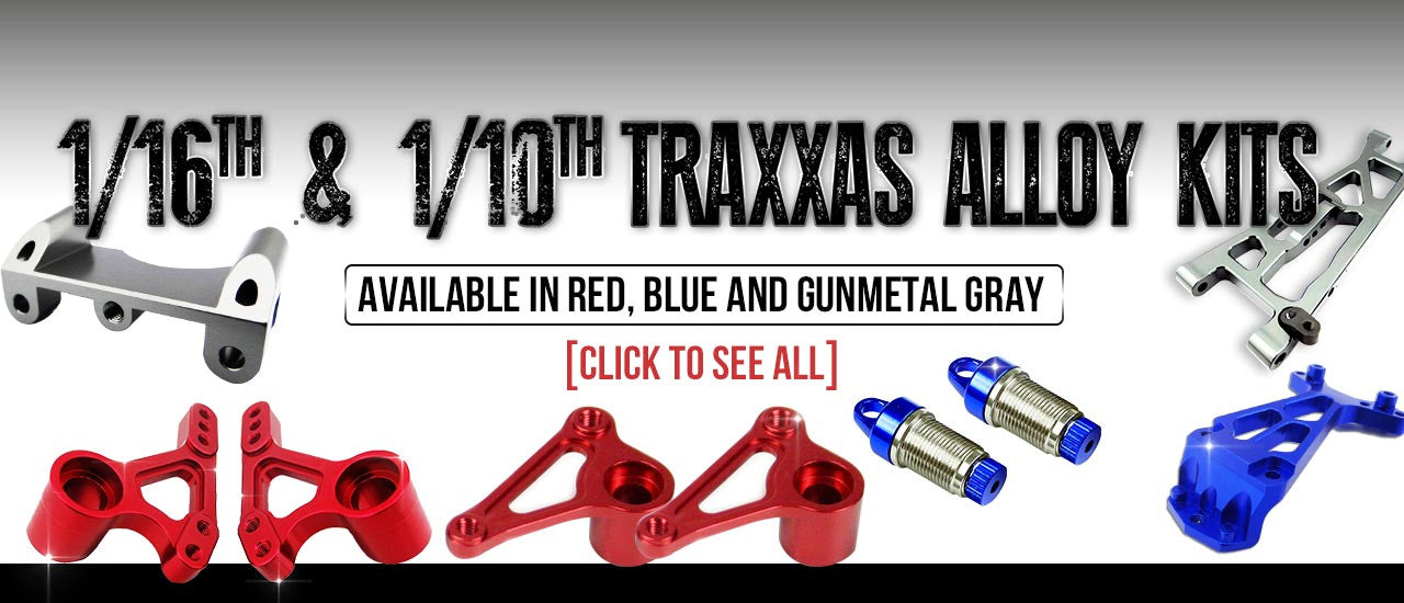 Traxxas Alloy Parts by Atomik RC