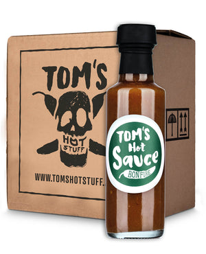 TOM'S HOT SAUCE - Bonfire (SIXPACK)